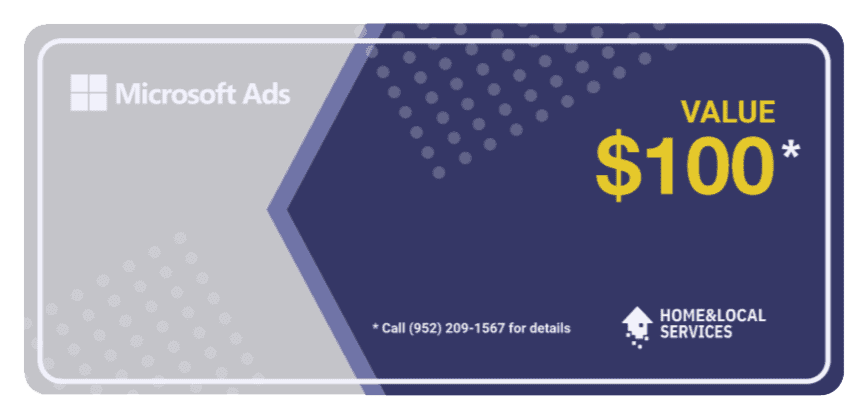 Microsoft Ads Coupon